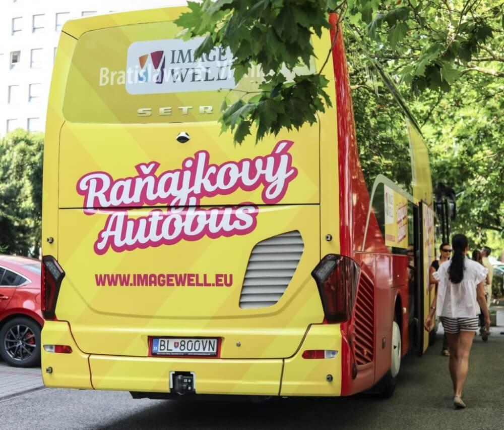 Polep autobusu Imagewell